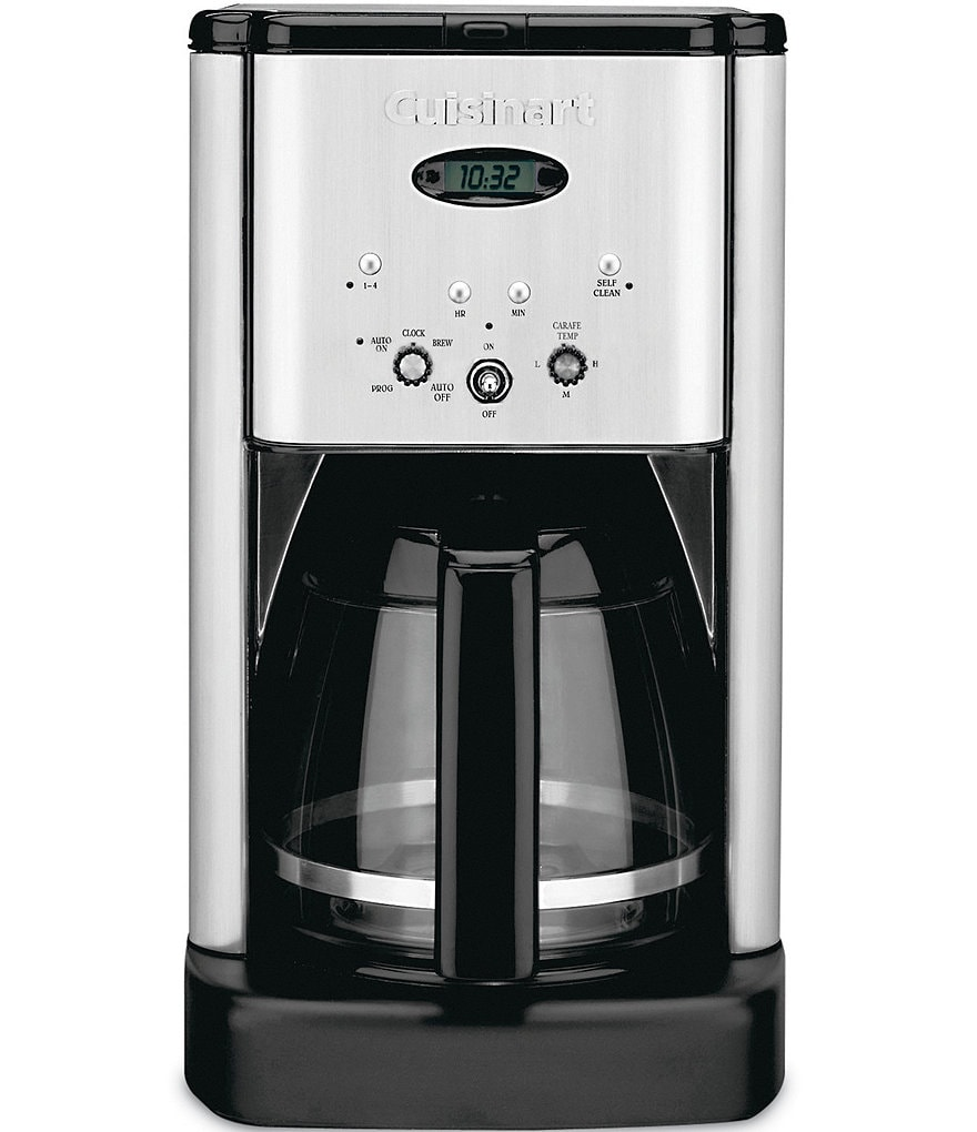 Cuisinart Brew Central 12-Cup Brushed Stainless Coffeemaker