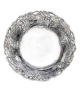 Arthur Court Grape Bowl with Fretwork