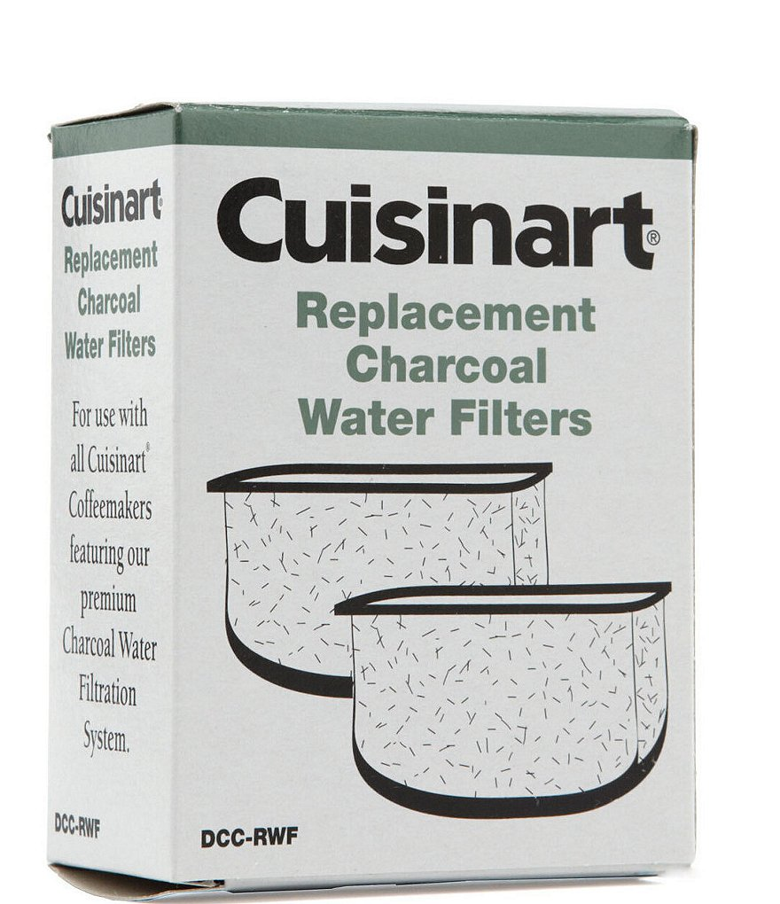Cuisinart Replacement Charcoal Water Filters, Set of 2
