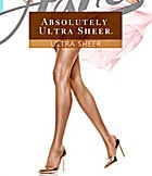 Hanes Absolutely Ultra Sheer Control Top Sandalfoot Pantyhose