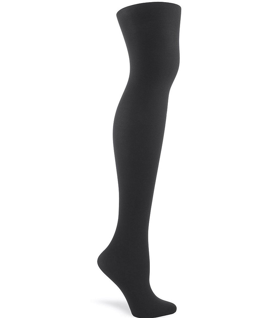 HUE Opaque Non-Control-Top Tights
