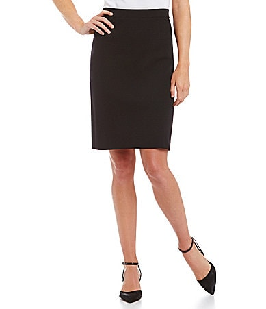 Exclusively Misook Slim Pencil Skirt