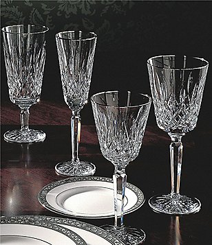 Waterford Lismore Platinum Tall Crystal Stemware