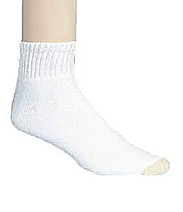 Gold Toe Extended Size Quarter Athletic Socks 6-Pack