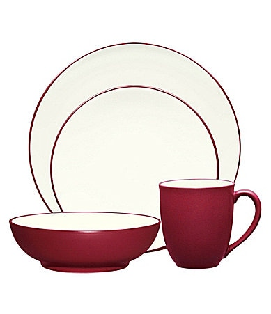 Noritake Colorwave Raspberry Coupe Dinnerware