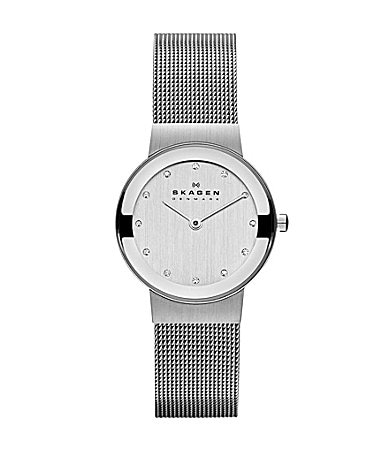 Skagen Ladies� Freja Steel Mesh Watch