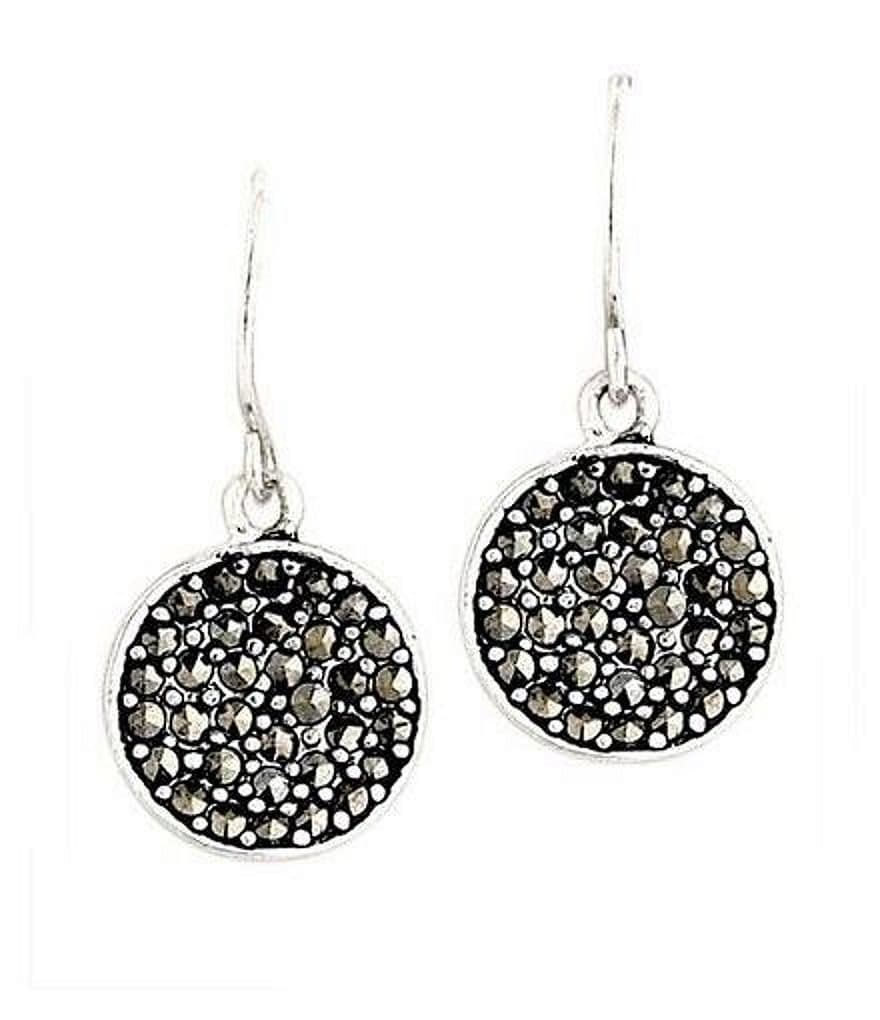 Kenneth Cole New York Marcasite Paddle Earrings