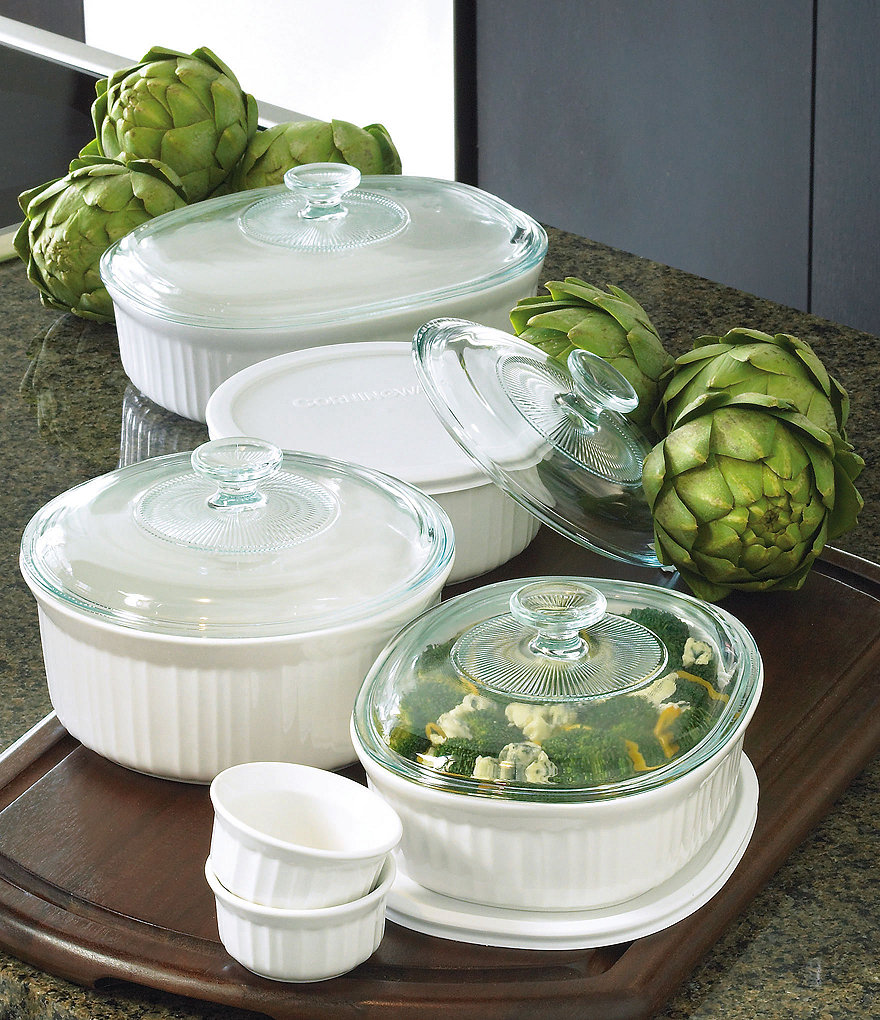 CorningWare 12-Piece French White Set