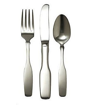 Oneida Paul Revere Brushed 3-Piece Children´s Stainless Steel Flatware Set