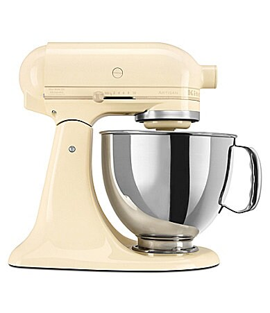 KitchenAid Artisan Almond Cream 5-Quart Tilt-Head Stand Mixer