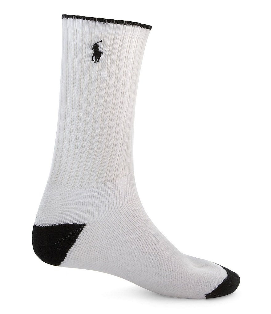 Polo Ralph Lauren Cotton-Blend Socks 3-Pack