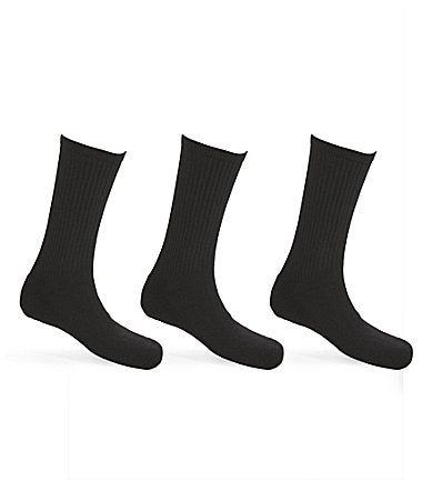 Calvin Klein Sport Athletic Crew Socks 3-Pack