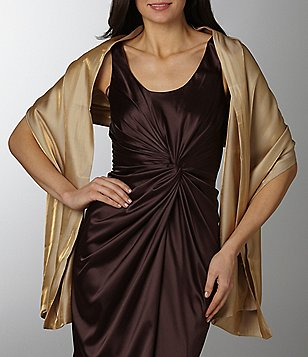 Cejon Metallic Sheen Evening Wrap
