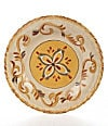 "11.25"" Dinner Plate-Yellow"