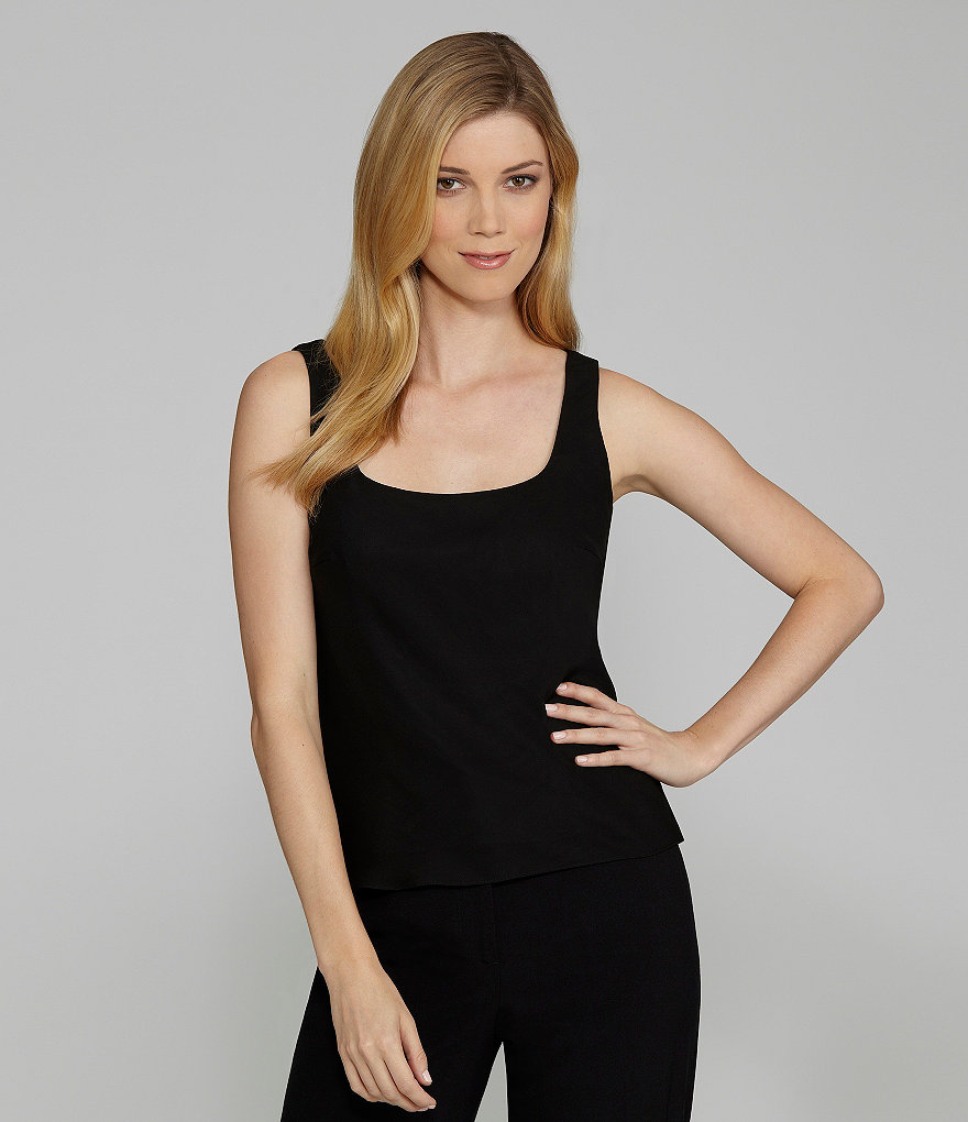 Alex Evenings Chiffon Top