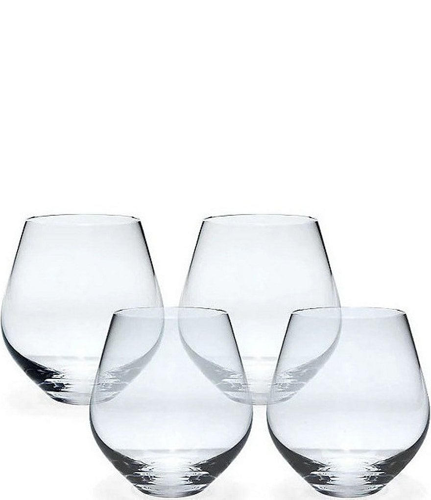 Lenox Tuscany Classics Stemless Red Wine Glasses, Set of 4