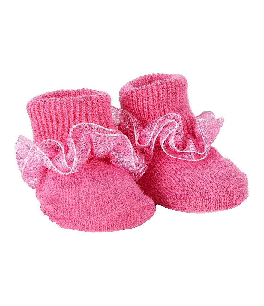 Starting Out Infant Ruffled Booties