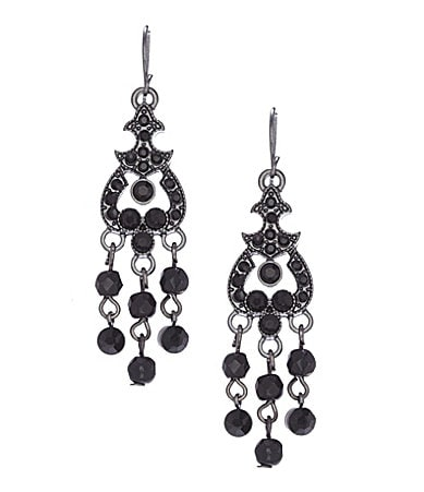 Haskell Jewels Chandelier Earrings