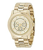 Michael Kors Men�s Runway Champagne-Dial Chronograph Watch