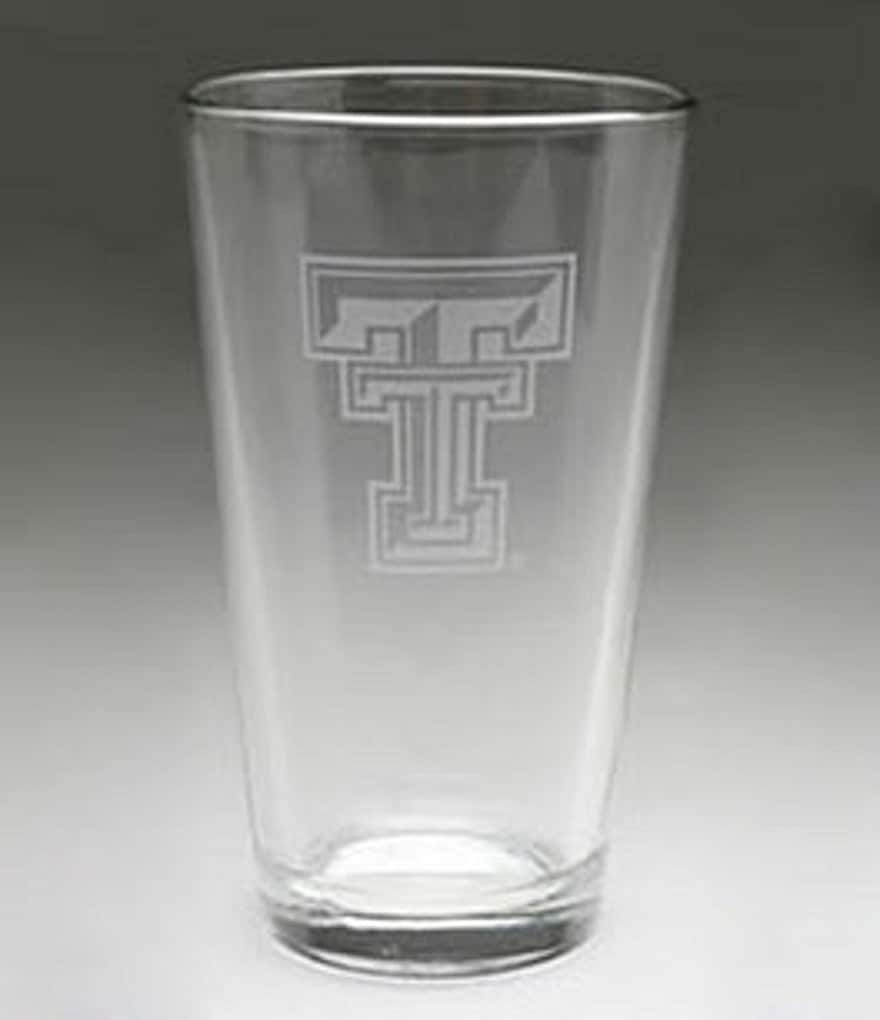 Arthur Court Texas Tech University Pub Glass