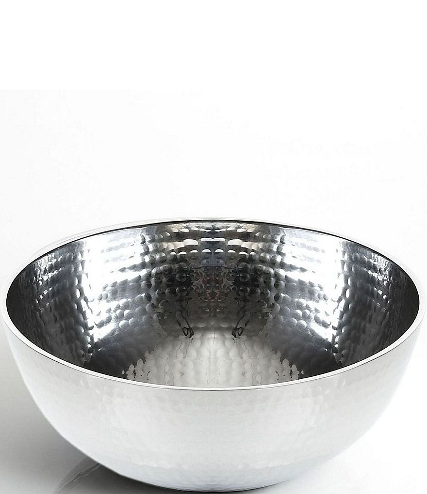 Towle Silversmiths Hammered Medium Serving Bowl