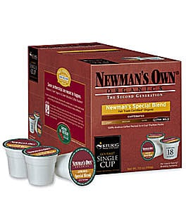 Newman's Own Organic Special Blend Extra Bold Coffee K-Cups