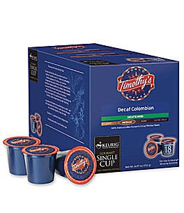 Timothy's Decaf Colombian Coffee K-Cups