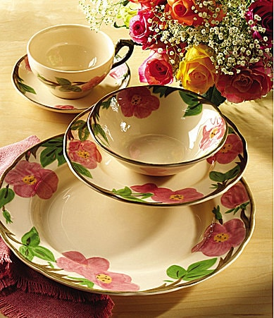 Johnson Brothers Franciscan Desert Rose Dinnerware