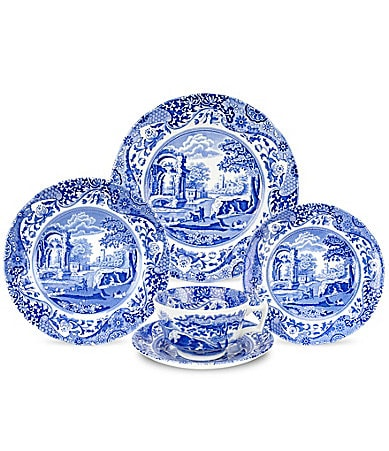 Spode Blue Italian China