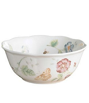 Lenox Butterfly Meadow Porcelain All-Purpose Bowl