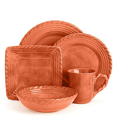 Artimino Tuscan Countryside Terracotta Dinnerware