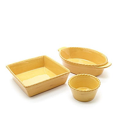 Artimino Tuscan Countryside Yellow Dinnerware
