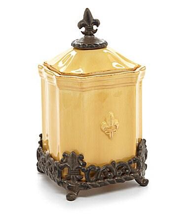 Artimino Fleur-de-Lis Yellow Dinnerware $ 40.00