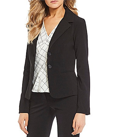 I.N. San Francisco Double-Button Blazer