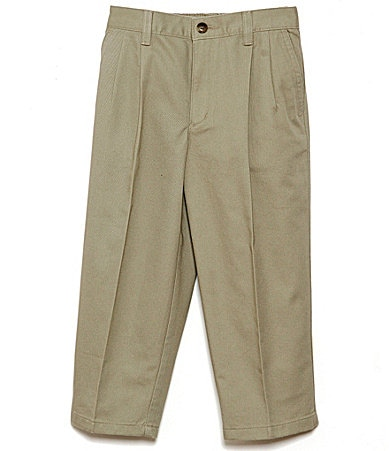 Class Club 2T-7 Slim Pleated Twill Pant