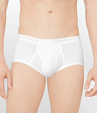 Calvin Klein Basic All-Cotton Briefs 3-Pack