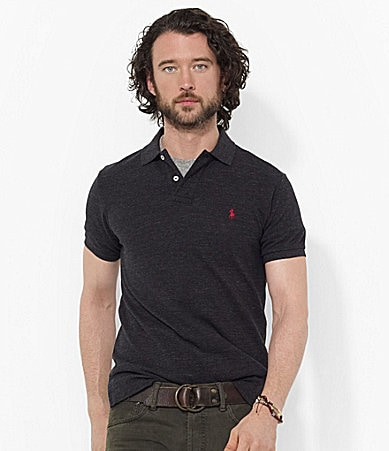 Polo Ralph Lauren Custom-Fit Solid Mesh Polo Shirt