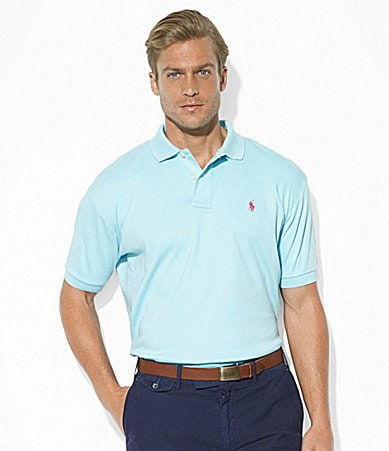 Polo Ralph Lauren Classic-Fit Solid Interlock Polo Shirt