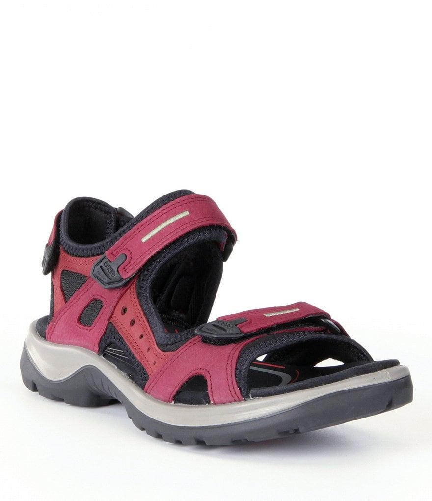 Black ecco sandals - Ecco Yucatan Sandals