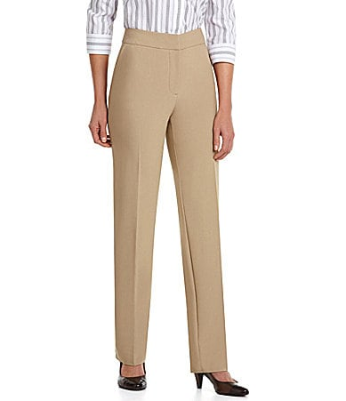 Investments Petites PARK AVE fit Straight-Leg Pants