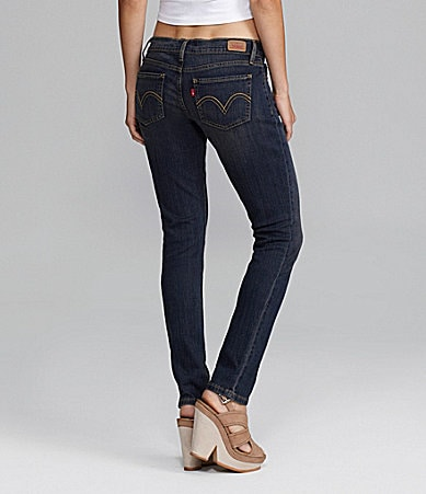 Levi�s 524� Superlow Skinny Jeans