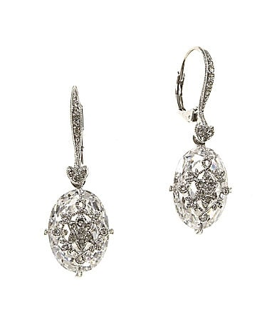 Nadri Crystal Drop Earrings Dillards
