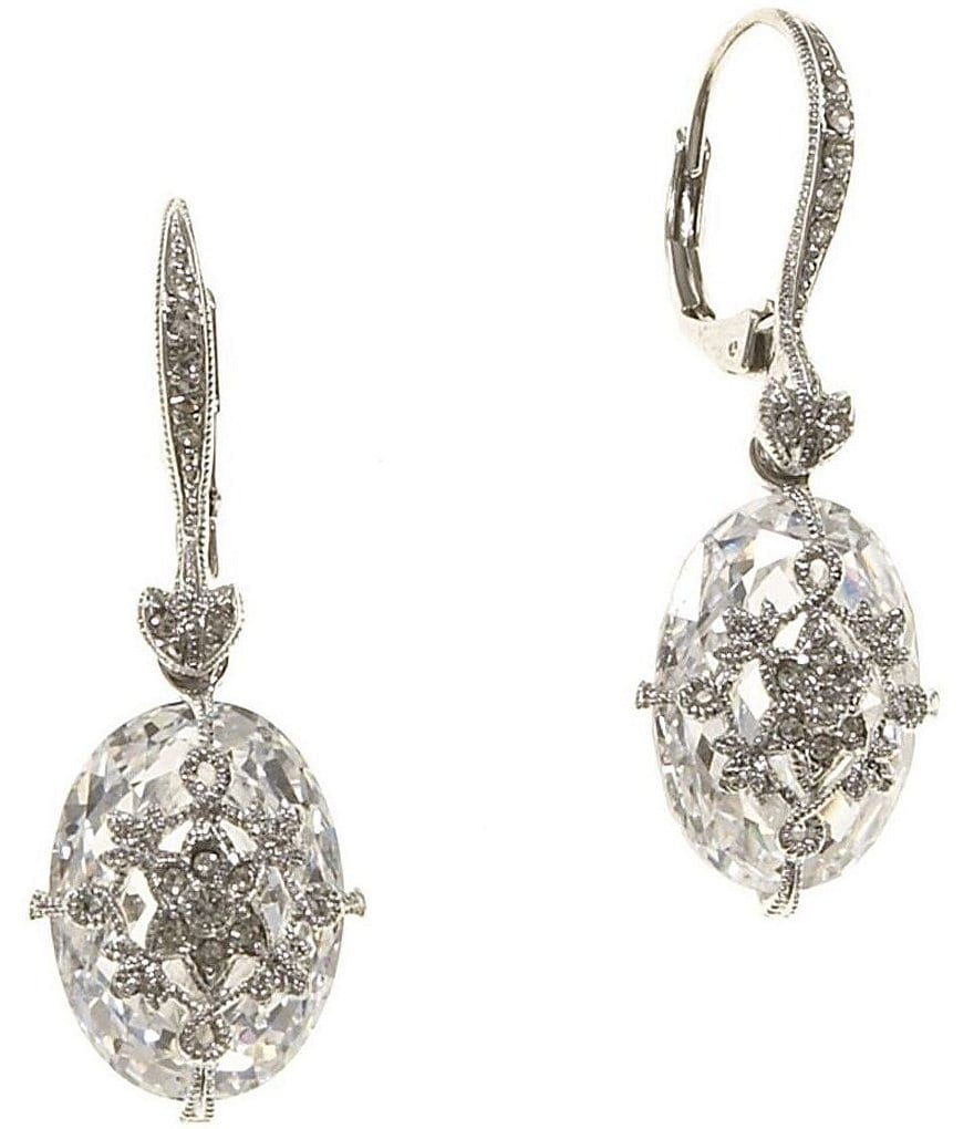 nadri filigree drop earrings dillards
