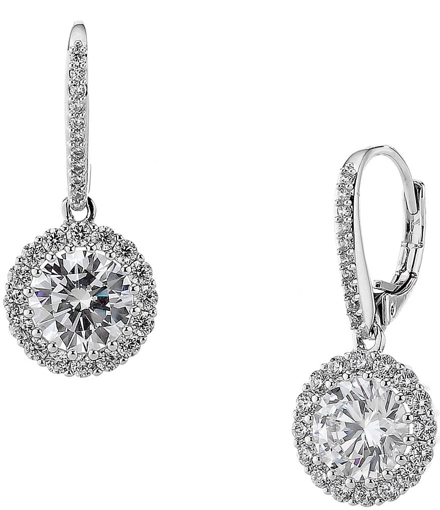 Nadri Crystal Drop Earrings