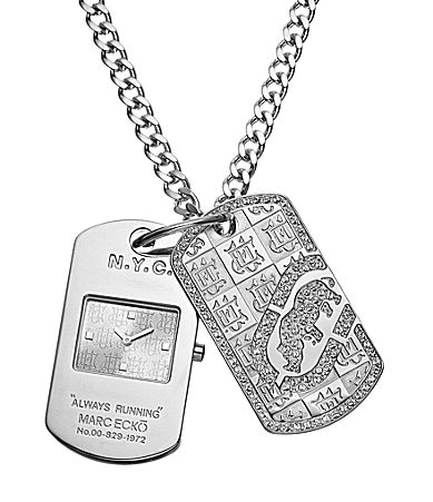 Ecko Unlimited Dog Tag Chain Watch