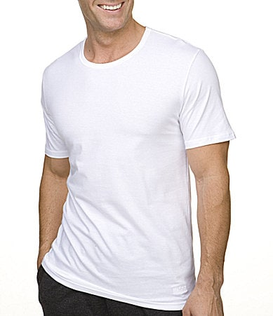 BOSS Black Short-Sleeve Shirts 3-Pack