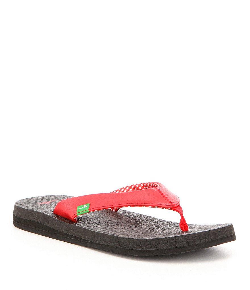 Black sandals belk - Sanuk Yoga Mat Flip Flop Sandals