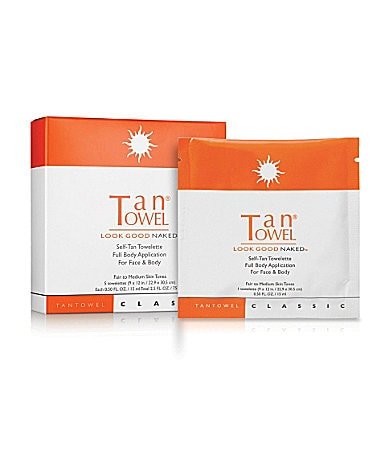 TanTowel Full Body Classic Self-Tan Towelette 5-Pack