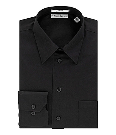 Kenneth Cole New York Sateen Point-Collar Dress Shirt