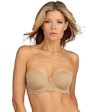 Calvin Klein Seductive Comfort Customized Lift Strapless Bra